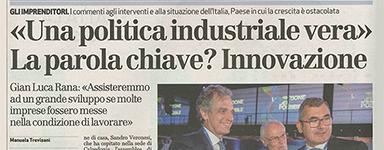 """""""Una politica industriale vera"""" La parola chiave? Innovazione"""