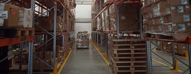Corso finanziato per addetti alla logistica di magazzino