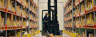 Corso finanziato per addetti alla logistica e alla sicura movimentazione delle merci